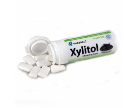 Xylitol, Chewing Gum Fruit, Green Tea, 30 τσίχλες