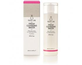 YOUTH LAB, Fresh Cleansing Water All skin types Διάλυμα καθαρισμού για το πρόσωπο και για τα μάτια,  200ml