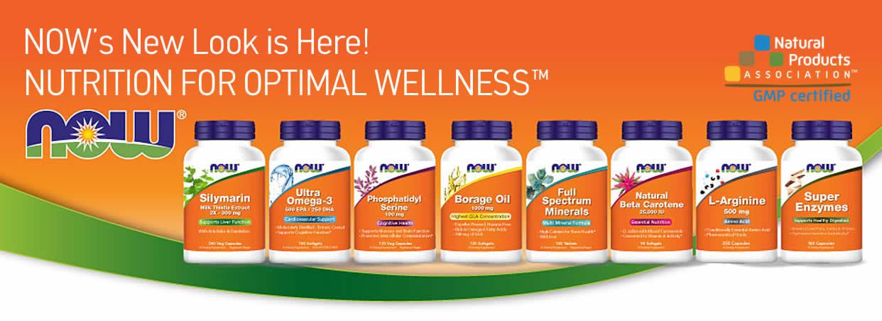 Now Foods supplements